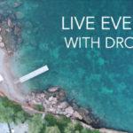RETRANSMISSION LIVE AVEC DRONE