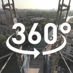 TOURNAGE DE FILM DE CHANTIER A 360° DE LA TOUR ELITHIS DANUBE