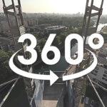 TOURNAGE DE FILM DE CHANTIER A 360° DE LA TOUR ELITHIS DANUBE