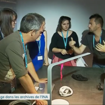 Reportage France sur le challenge VR INA à strasbourg