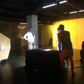 Tournage du film VR 42D2