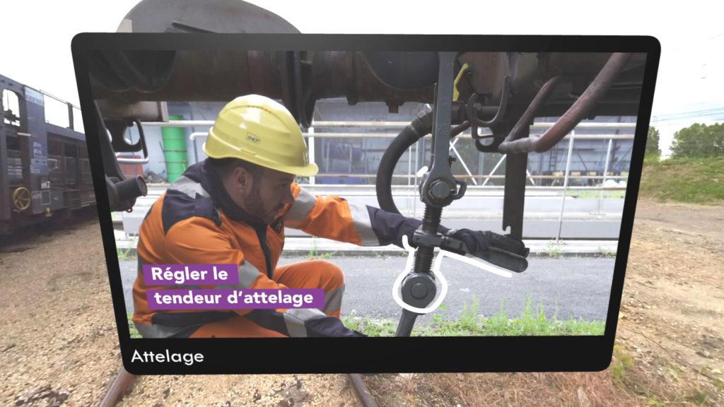 Formation en réalité virtuelle pour la SNCF